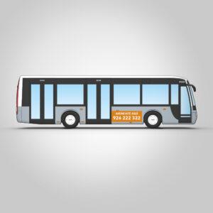 Autobús interurbano con rotulación integral